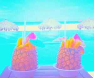 summer, tumblr quality, and vibrant pastel image