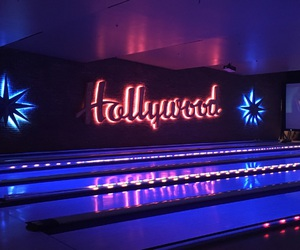 blue, bowling, and bright image