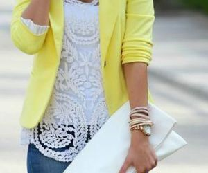moda, outfit, and mujer image
