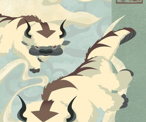 avatar, appa, and sky bison image