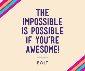 bolt and quote image