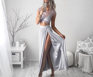 dress, fashion, and tumblr image