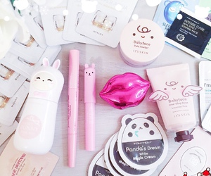 girls, pink, and tony moly image