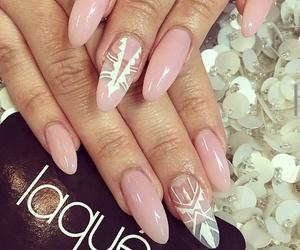 nails, nail design, and nail jewels image