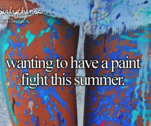 summer, just girly things, and paint image