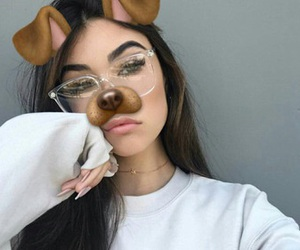 madison beer, snapchat, and icon image