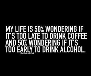 alcohol, coffee, and drinks image