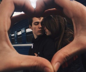 beauty, boyfriend, and couple image