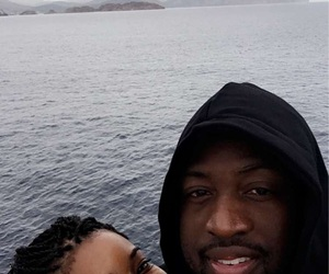couple, gabrielle union, and wade image