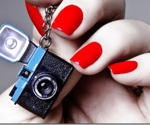 holga, key chain, and nails image