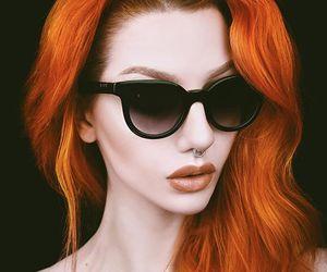 orange hair image