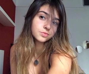 art, brunette, and goals image
