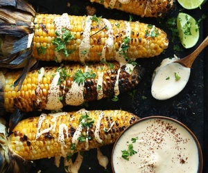 food, corn, and healthy image