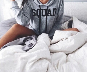 squad, fashion, and bed image