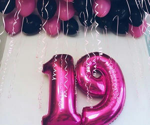 birthday, 19, and pink image