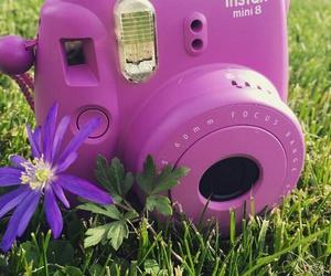 camera, polaroid, and edit image