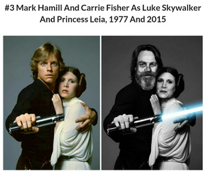 carrie, fisher, and mark image