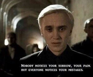 harry potter, draco malfoy, and quotes image