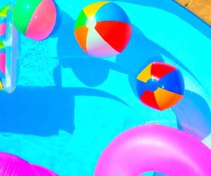 bright, pastel, and pool image