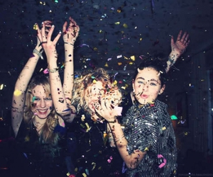 party, fun, and friends image
