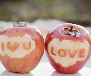 apple, love, and I Love You image