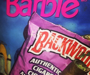 barbie, marijuana, and weed image