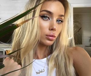 blonde, Hot, and blue eyes image