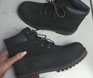 black, shoes, and beauty image