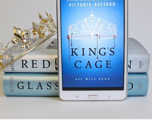 books, red queen, and glass sword image