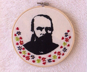 embroidery and dostoyevsky image