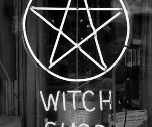witch, shop, and grunge image