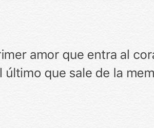 amor, primer amor, and español image
