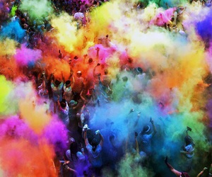 colors, people, and love image