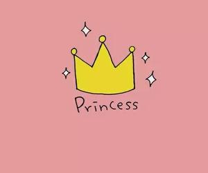 princess, wallpaper, and pink image