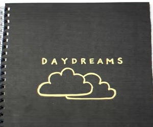 black, clouds, and day dreams image