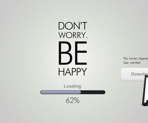 happy, be happy, and download image