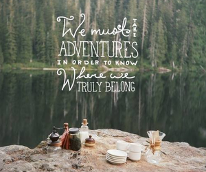 adventures, camping, and wanderlust image