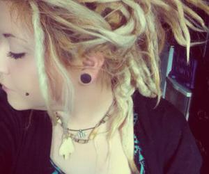 dreadlocks, dreads, and girls with dreads image