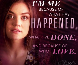 pretty little liars, aria, and quote image