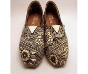 dibujo, zentangle art, and zapatos image