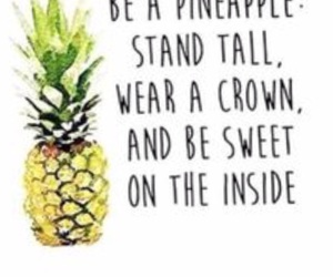 brave, courage, and pineapple image