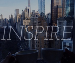 easel, font, and inspire image