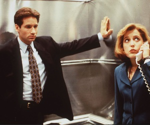 dana scully, fox mulder, and series image