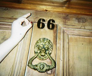 666, hipster, and indie image