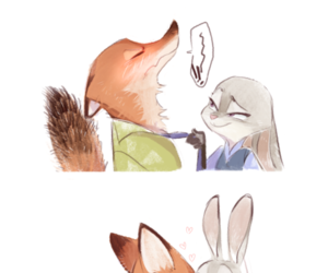zootopia and kiss image