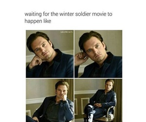 Marvel, sebastian stan, and winter soldier image