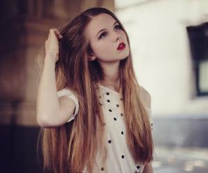 girl, hair, and ariana grande image