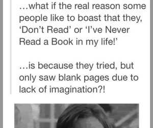 book, funny, and imagination image