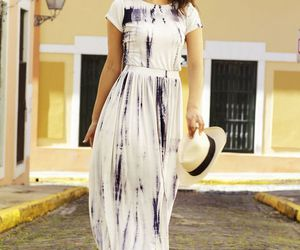 chic, fashion photography, and summer dress image