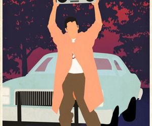 john cusack, Say Anything, and lloyd dobler image